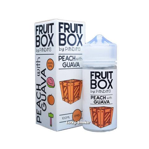 Жидкость Panda`s Fruit Box 100 мл Peach with Guava