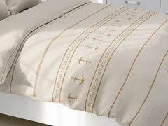 Santorini light quilt / double beige