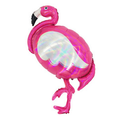 К Фигура, Фламинго голография, 60*100см.