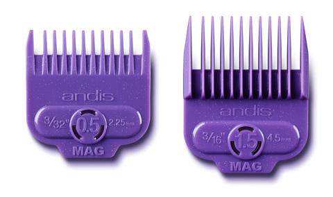 Набор насадок Andis на магнитах к машинкам US-1, LCL, AAC-1, PM-4 (2,25, 4,5 мм)