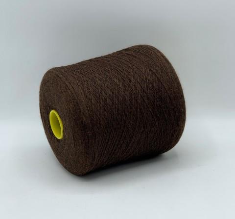 Бобинная пряжа Polipeli  (пр.Германия),art-Abancay 1250 м/100гр,100% меринос, цвет-Коричневый , арт-10315