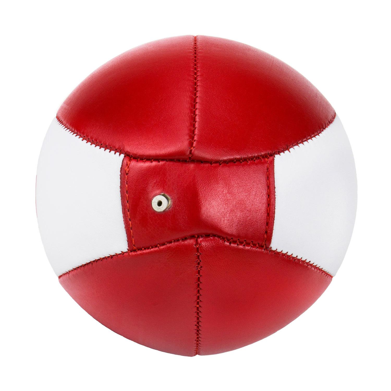 Пневматическая груша Dozen Absolute красно-белая вид снизу