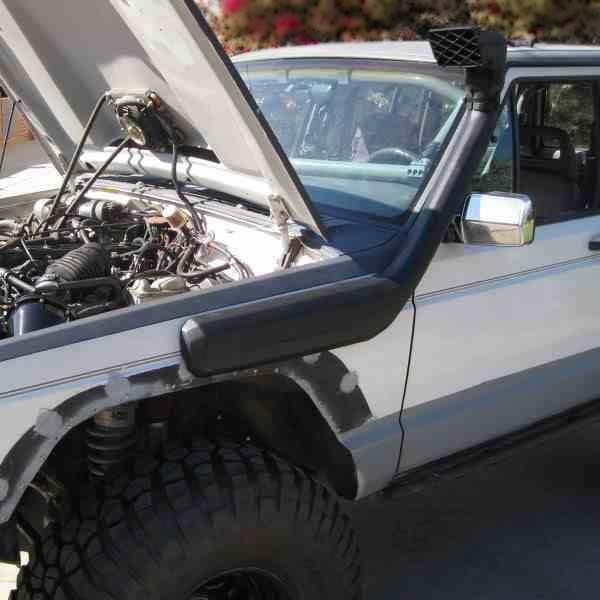Установка шноркеля на Jeep Cherokee