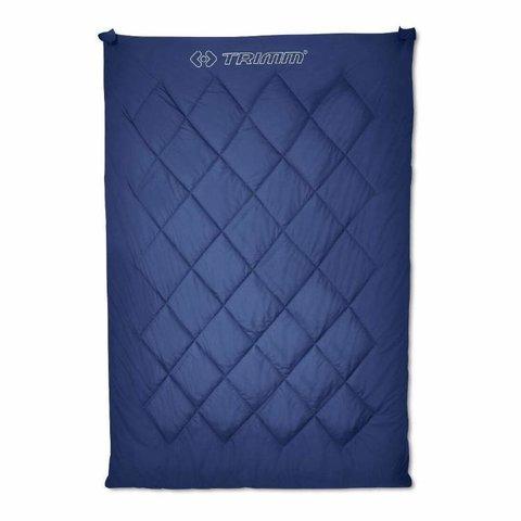 Спальный мешок Trimm Twin, 195 R (синий, оливковый)