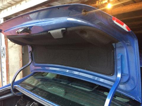 Обшивка крышки багажника верхняя (ворсовая) Лада Веста