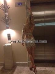 Елена в платье Jovani 7757
