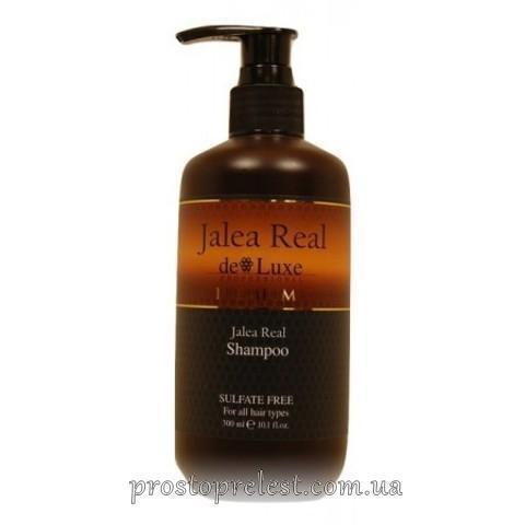 De Luxe Jalea Real Shampoo - Шампунь зволожуючий з маточним молочком