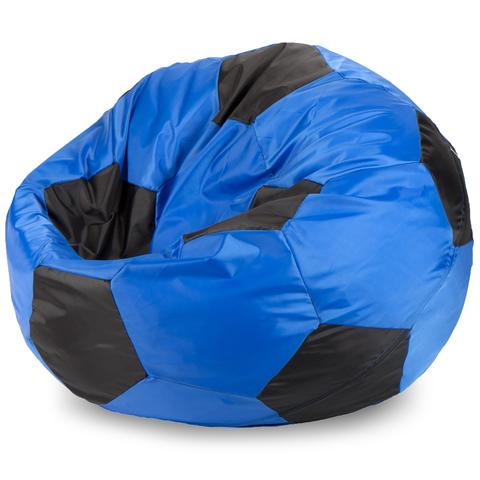 Кресло-мешок мяч  L, Оксфорд Синий и черный