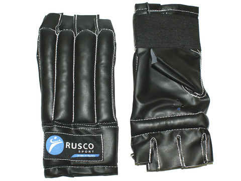 Шингарты RuscoSport, чёрные, размер L