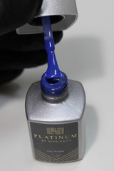 Гель-лак синего цвета PLATINUM