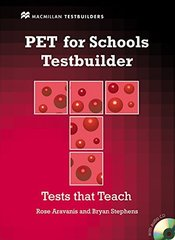 Testbuilder PET for Schools SB W/Key +D Pk