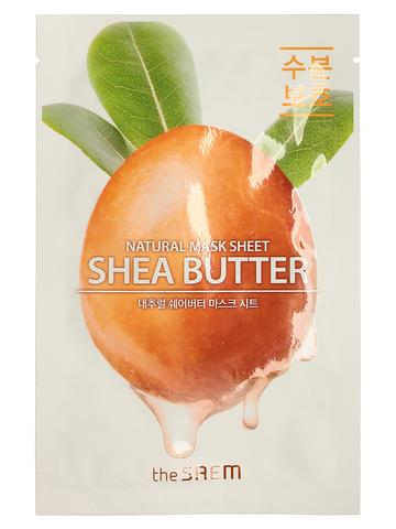 СМ Маска на тканевой основе для лица N с экстрактом масла ши Natural Shea Butter Mask Sheet 21мл
