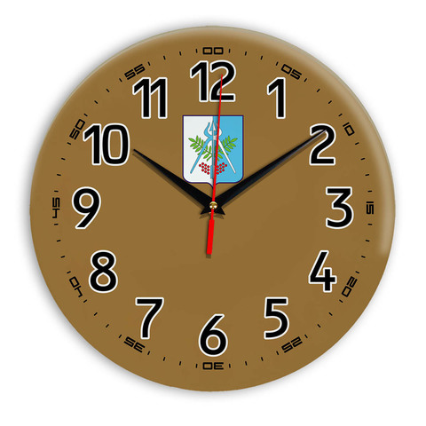 Интерьерные часы герб Ижевск 11