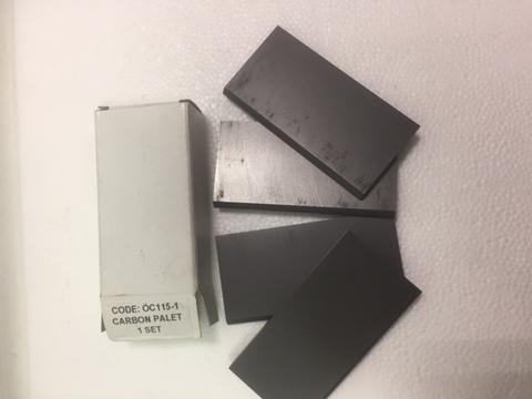 Лопатка графитовая ОС.115/1.   4,90*85*43