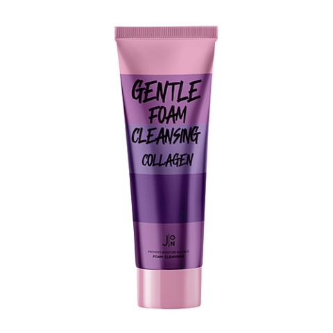 Увлажняющая пенка с коллагеном J:ON Gentle Foam Cleansing Collagen