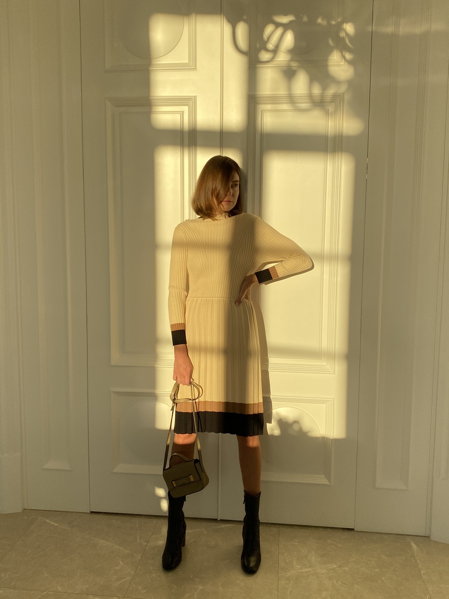Платье, Ballerina, 937 (бежевый)