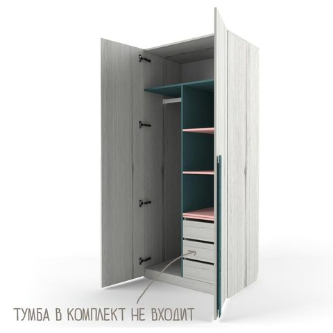 Тумба вставная в шкаф «Нью тон»