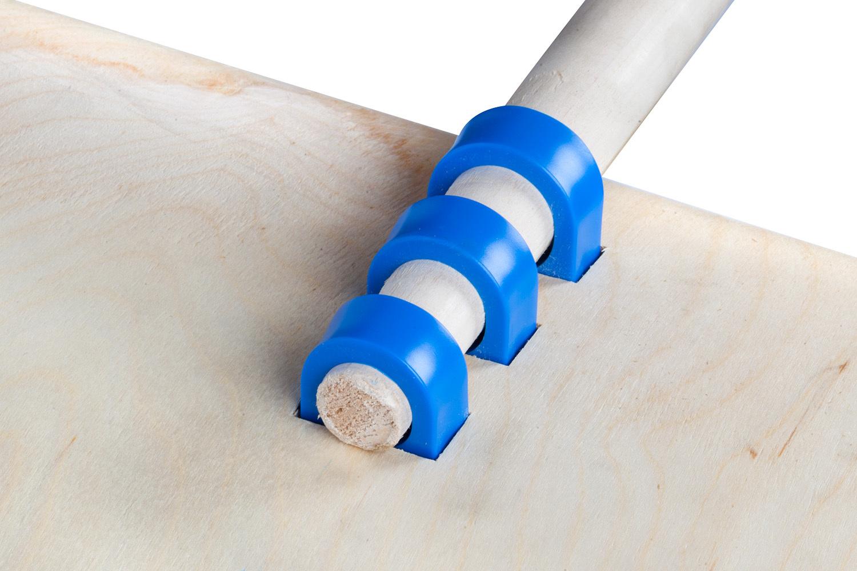 Лопата для уборки снега деревянная OFFNER