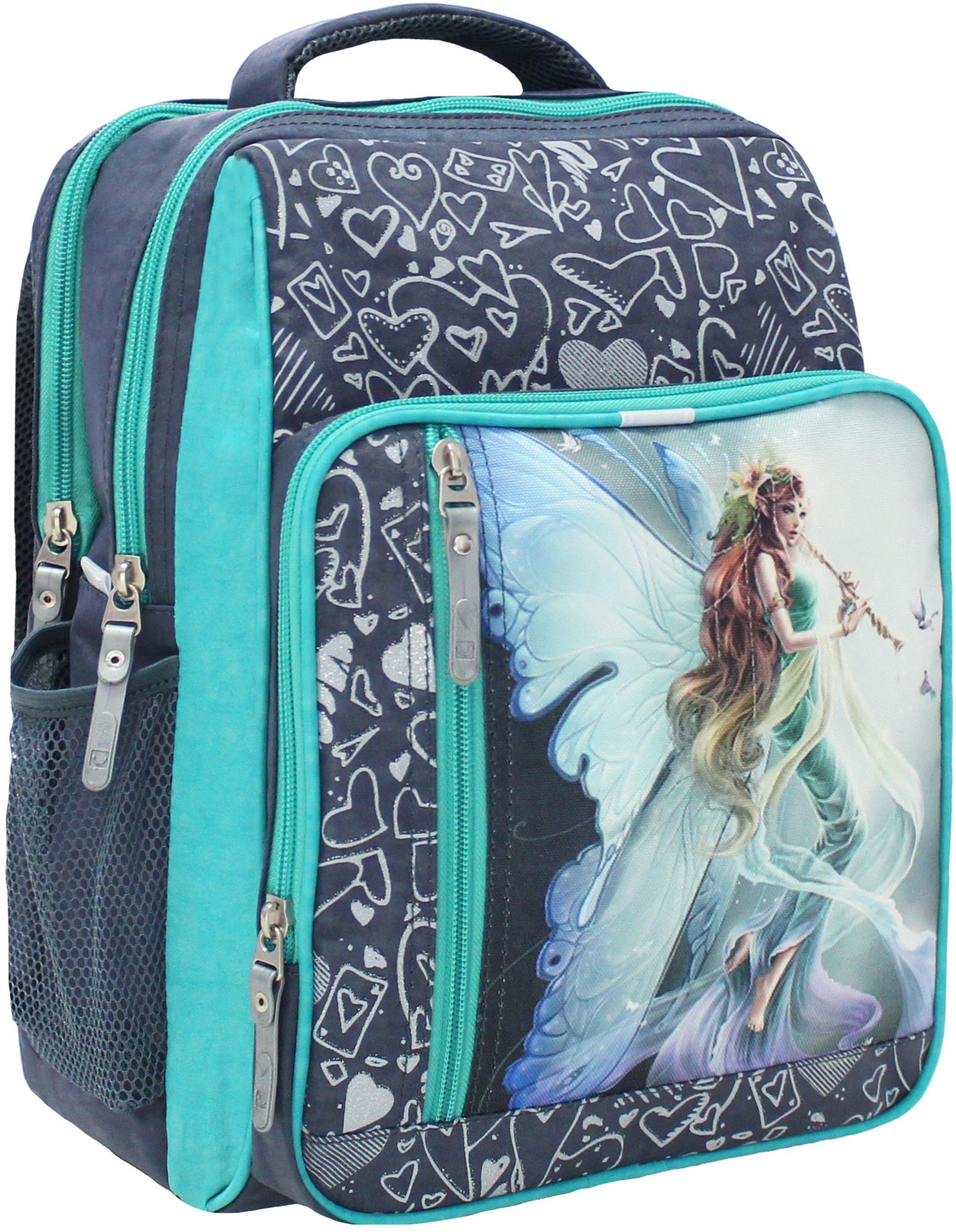Школьные рюкзаки Рюкзак школьный Bagland Школьник 8 л. 321 сірий 90 д (00112702) IMG_5274.JPG