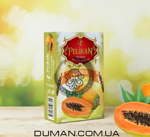 Табак Pelikan Papaya (Пеликан Папайя)