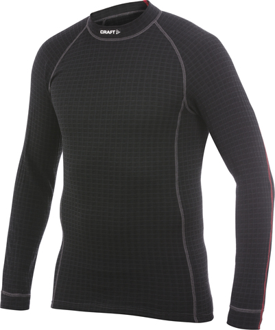 Термобелье Рубашка Craft Warm Wool мужское черная