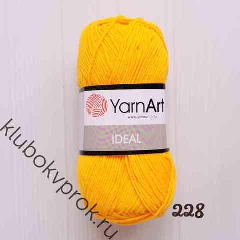 YARNART IDEAL 228, Желтый