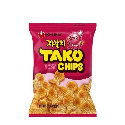 Чипсы Тако с морепродуктами Nongshim 60 гр