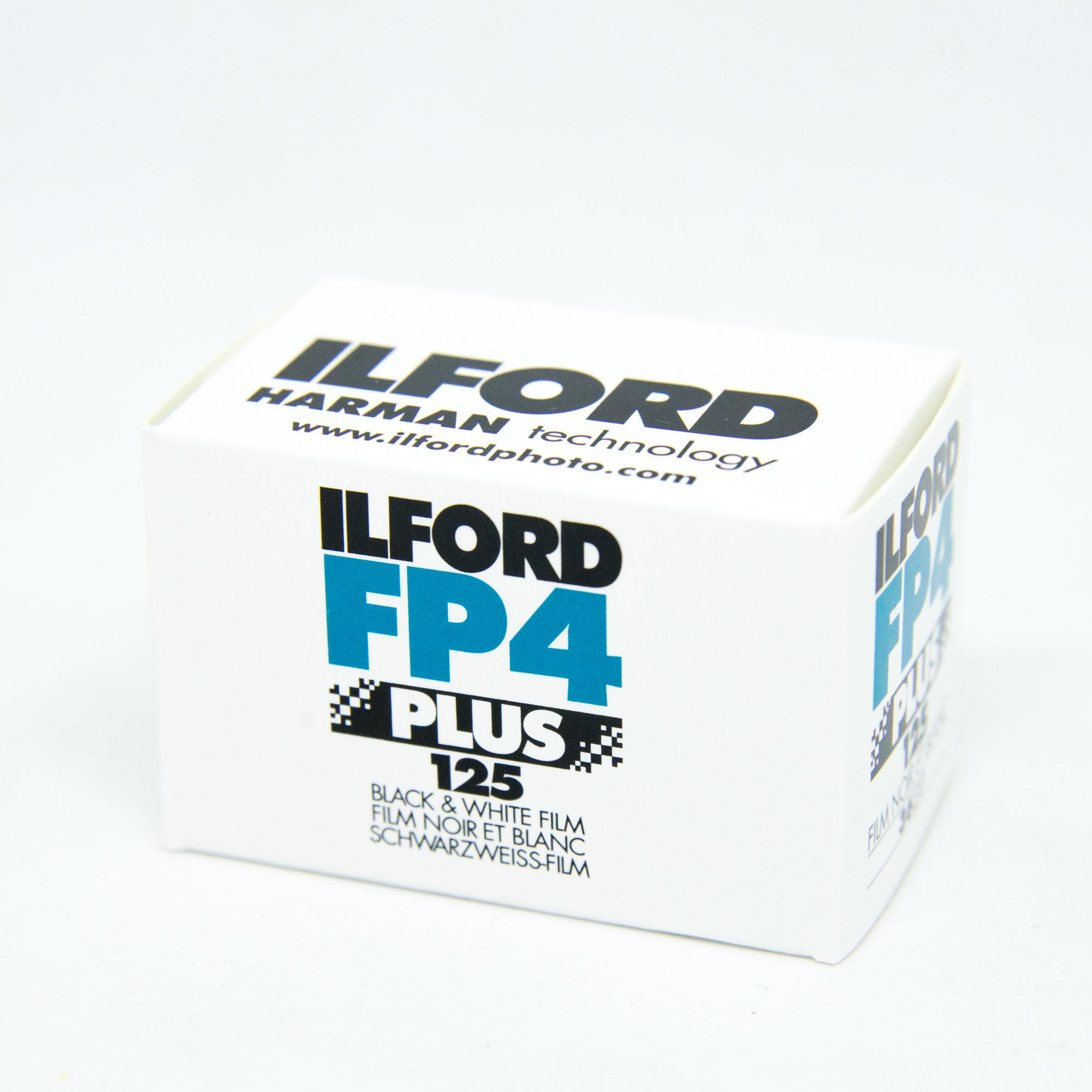 Фотопленка Ilford FP4 Plus 125/135-36