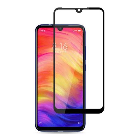 Защитное стекло для Xiaomi Redmi Note 7/Redmi 7 (черное)