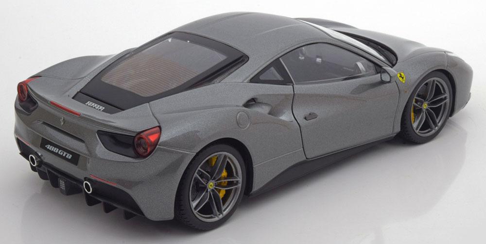 Коллекционная модель Ferrari 488 GTB 2015 Grey