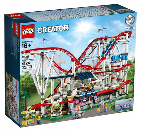LEGO Creator: Американские горки 10261 — Roller Coaster — Лего Креатор Создатель