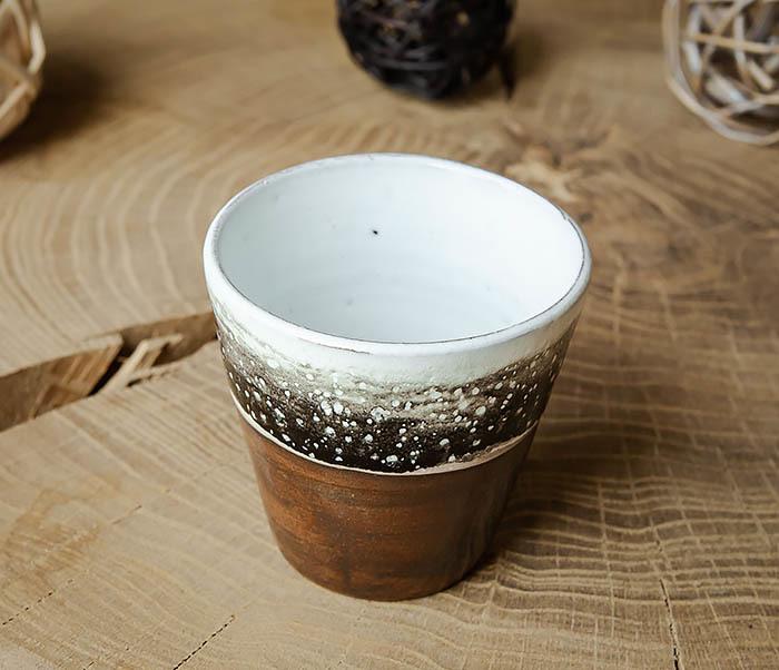 CUP108-2 Красивый стакан ручной работы, серия «Млечный Путь» фото 02