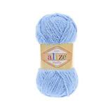 Пряжа Alize Softy голубой 40