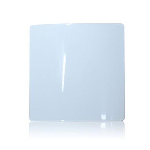 Решетка на магнитах Родфер РД-170 белая с декоративной панелью 170х170 мм