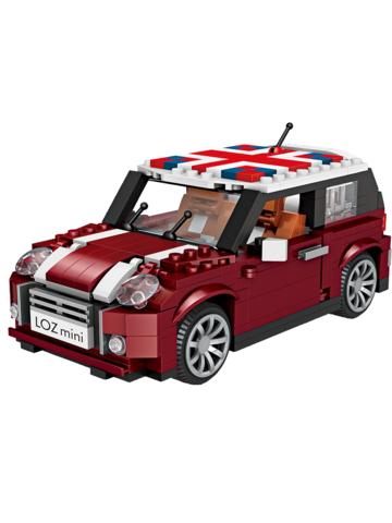 Конструктор LOZ mini Мини Kупер 492 детали NO. 1111 Mini Cooper Car model