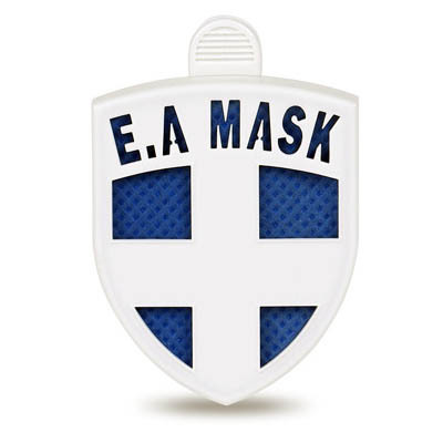 ECOM AIR MASK (BLUE) - virus blocker as clip on clothes