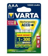 Аккумуляторы Varta 5703 (HR3) AAA 1000mAh Prof. 1х4 шт.