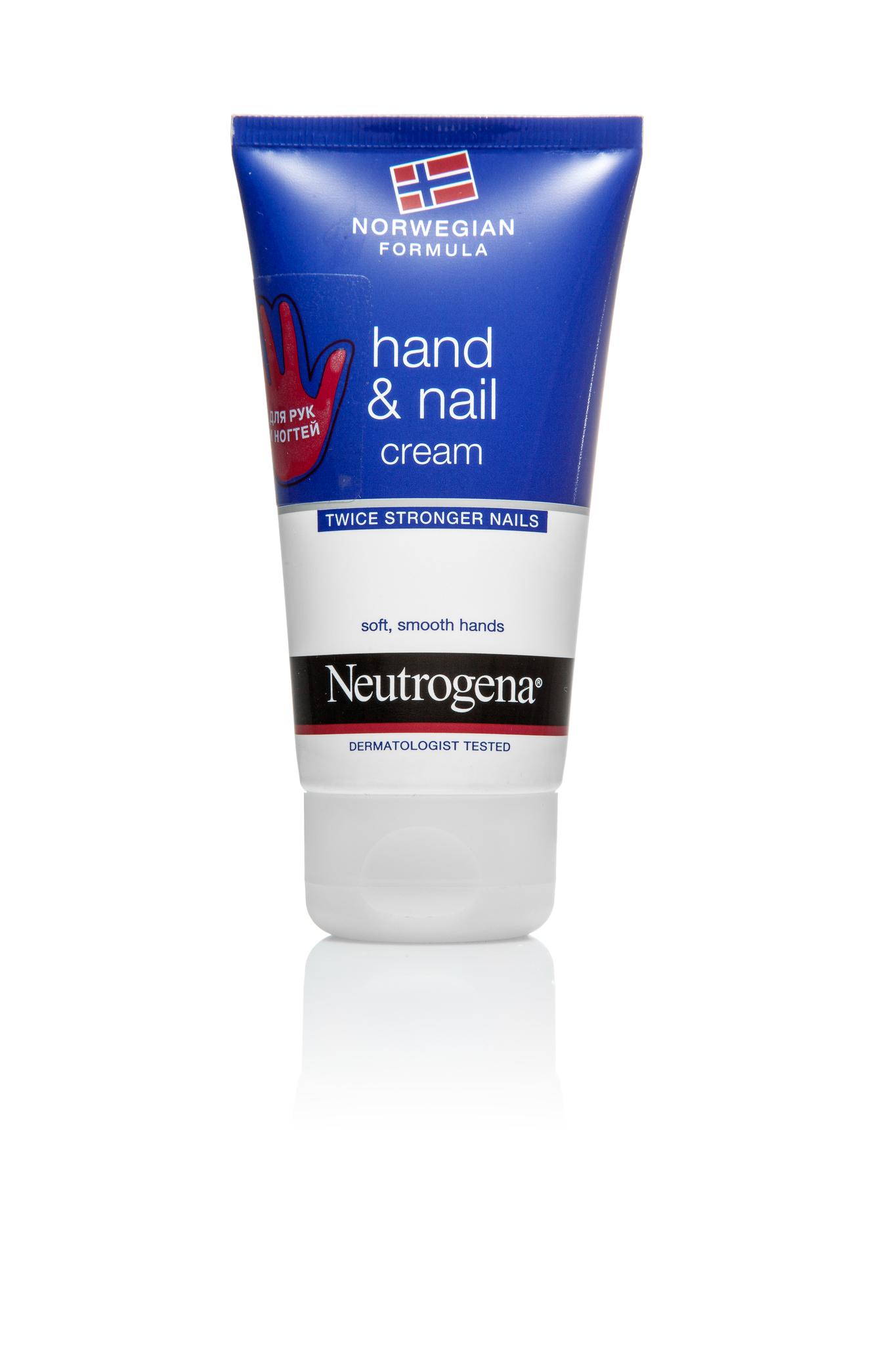 Neutrogena крем-уход для рук и ногтей 75 мл.