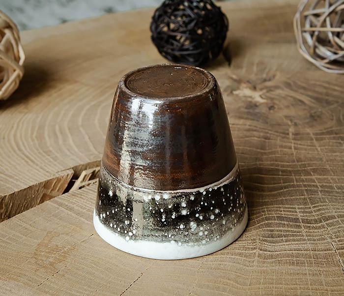 CUP108-2 Красивый стакан ручной работы, серия «Млечный Путь» фото 03