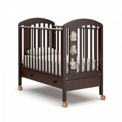 Кровать детская Макс с ящиком шоколад