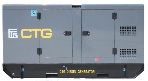 Дизельный генератор CTG AD-100RE в кожухе