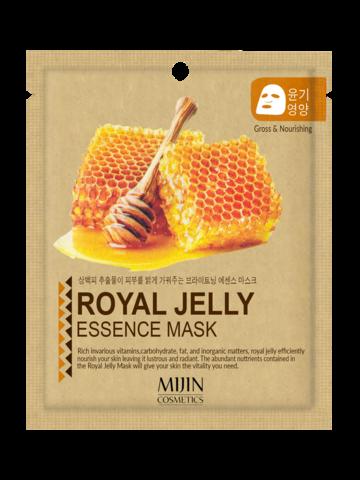 Тканевая маска с маточным молочком Mijin Royal Jelly Essence Mask
