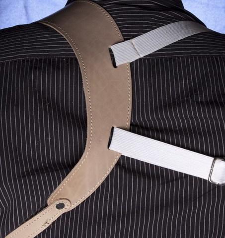 Кобура ПМ «Норд» на ремне оперативном с «резинкой»