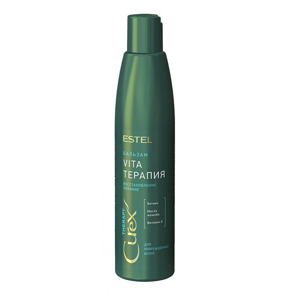 Крем-бальзам для поврежденных, ослабленных и сухих волос