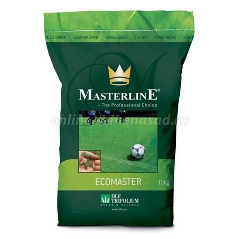 Газонная трава Смесь Экомастер 1кг. (10 кг в мешке/стандарт)
