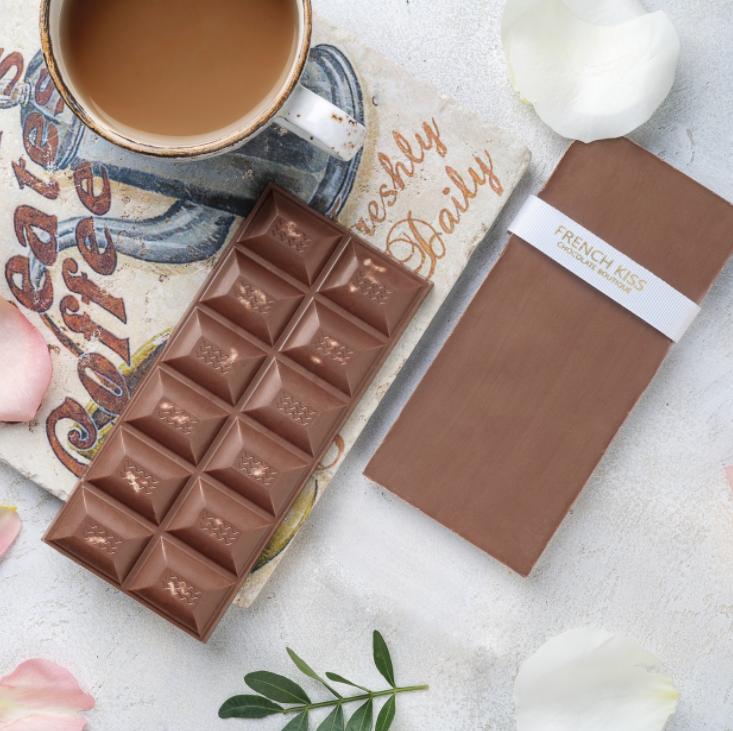 Молочный шоколад с орехом пекан, ФРЕНЧКИСС, 120г