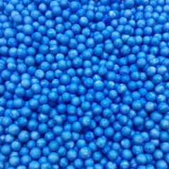 Шарики пенопласт, Голубой, крупные, 10гр