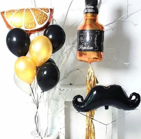 Композиция из шаров Мужская вечеринка