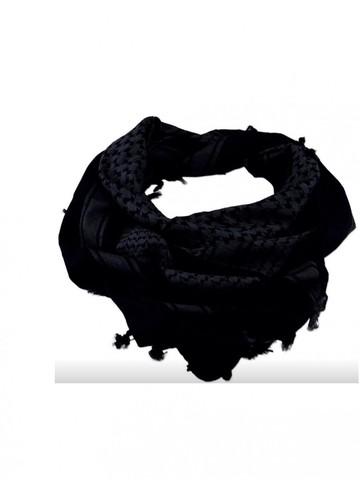 Шемаг (арафатка, куфия) черная
