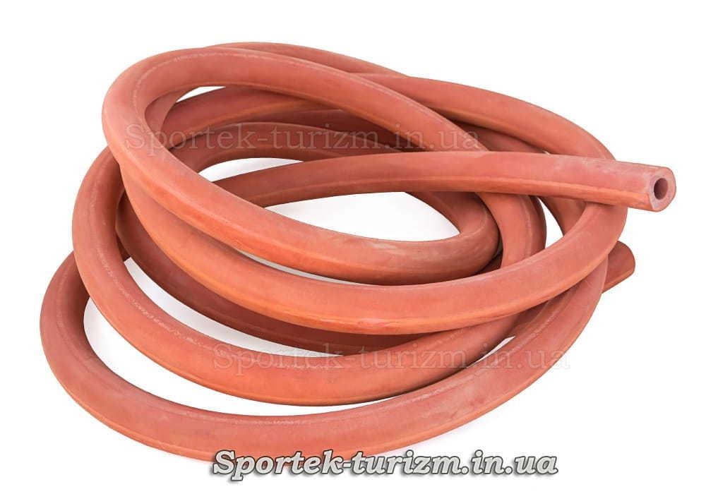 Фітнес гумка типу трубка (жорстка) червона